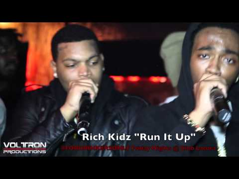 "Rich Kidz Perform Live At Club Lacura #FORDRINKERSONLY ""Run It Up"""