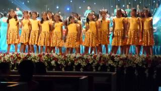 Good Shepherd Convent Kotahena Orchestra – Susara Sadwani – 30th May 2015 - BMICH – Children's Songs