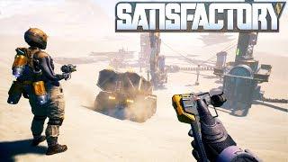 🏭 Satisfactory #01 | Erste Schritte in der neuen Welt | Gameplay German Deutsch thumbnail