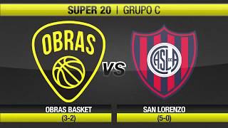 Highlights Obras Basket 84-88 San Lorenzo (13-10-2017)
