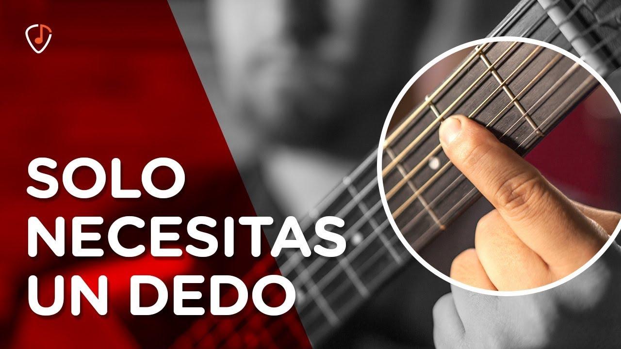 Download 7 Canciones FÁCILES en GUITARRA que puedes ¡TOCAR CON UN DEDO! | Ideal para principiantes