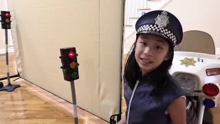 Pretend Play Police Missing Wild Car Mystery