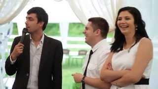 Смешной конкурс на свадьбе)) Ведущий на свадьбу Москва