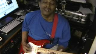 """""""Law And Order"""" TV Theme Mike Post Blues Guitar Solo Cover The Eric Blackmon Show"""