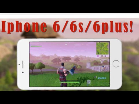 How to make fortnite work on iphone 6s plus