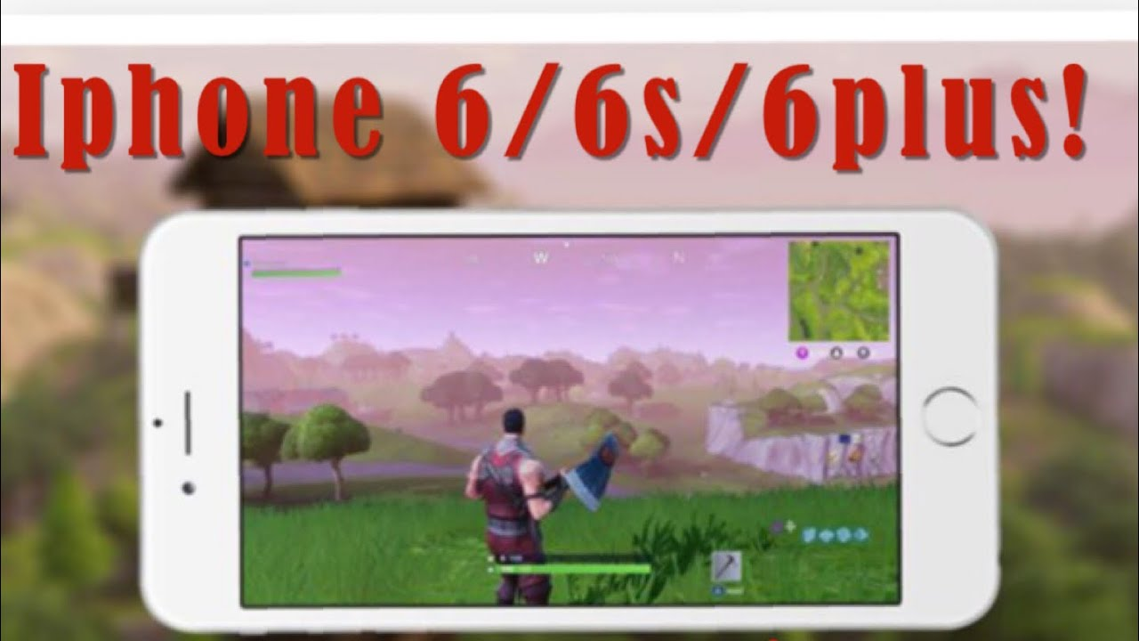 how to play fortnite on iphone 6 6s 6plus updated - how to use fortnite on iphone 6