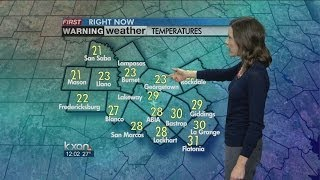 kxan weather at noon