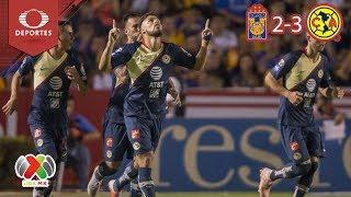 América apaga el volcán | Tigres 2 - 3 América | Apertura 2018 - Jornada 12 | Televisa Deportes