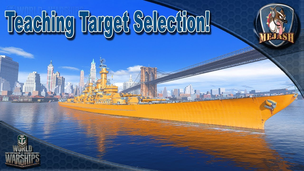 Montana teaches correct Target Selection! High Tier BB, which ships to  shoot first!