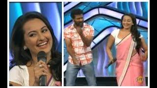 Sonakshi Sinha and Prabhu Deva ROCKED The Stage - DID L