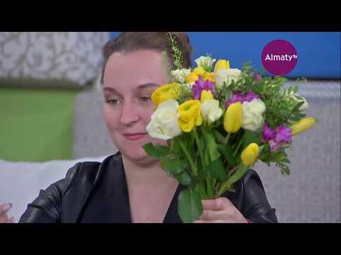 Күліп оян: оперная певица ГАТОБ им.Абая Анастасия Кожухарова (03.04.18)
