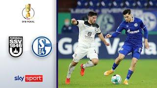 SSV Ulm - FC Schalke 04 | Highlights - DFB-Pokal 2020/21 | 2. Runde