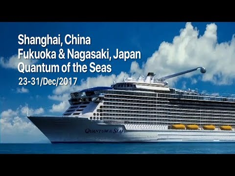 Quantum of the Seas Cruising from China to Japan