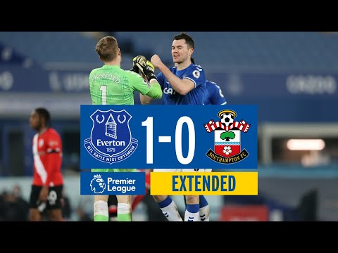 EXTENDED HIGHLIGHTS: EVERTON 1-0 SOUTHAMPTON
