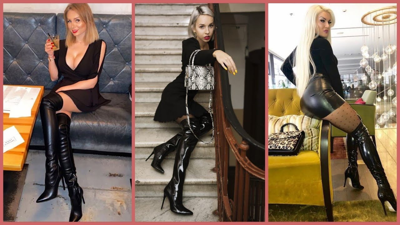 Most stylish and trendy pu shiny leather long shoes Idea's For ladies