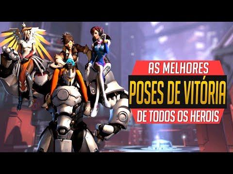 AS MELHORES POSES DE VITÓRIA DE CADA HERÓI! | Rasante #297 | Overwatch Brasil thumbnail