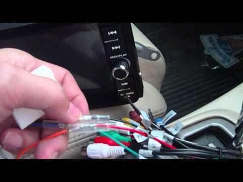 การติดตั้ง GPS Navigator แบบ 2DIN ในรถ Fortuner ต่อ