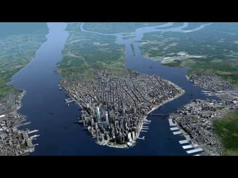 CGI Timelapse - New York City 2016 - 1811