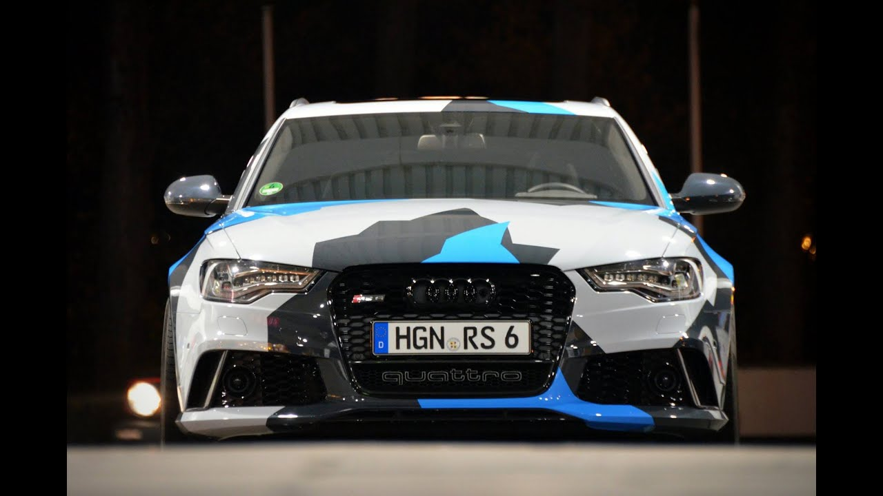 Liquid Film Starpaint Audi Rs6 By Tose Tuning De Amp Car
