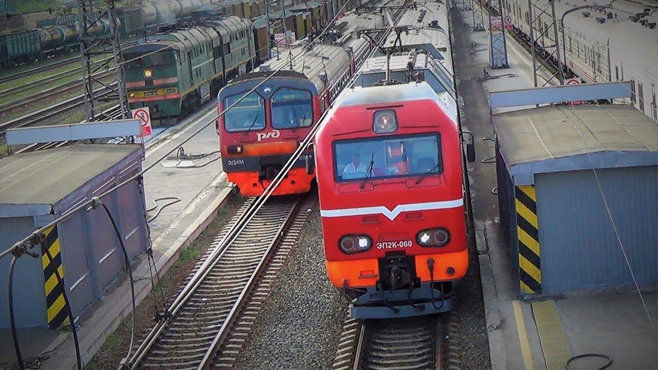 поезда России смотрим грузовые поезда электрички и товарный поезд видео про поезда для детей