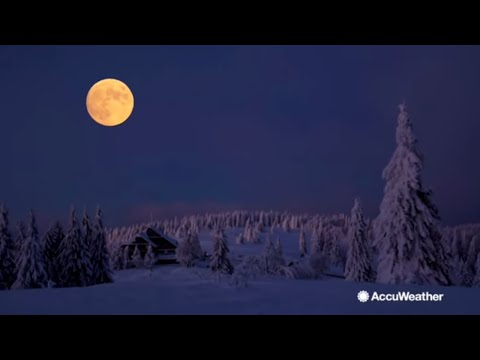 Rise of the Cold Moon on Dec. 22