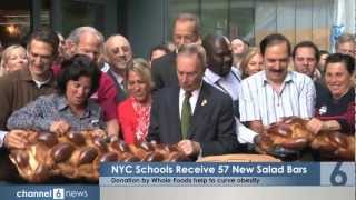 Whole Foods brings 57 New Salad Bars to New York City Schools