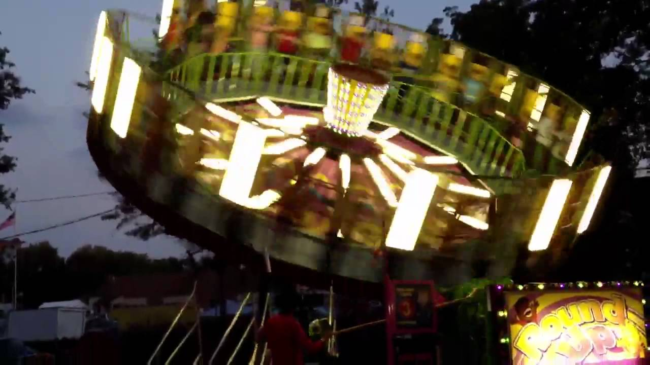 Fall Festival Ride - Round Up - YouTube