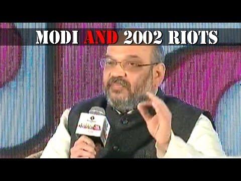 Jairam Ramesh and Amit Shah talk about 2002 riots - Panchayat Aaj Tak