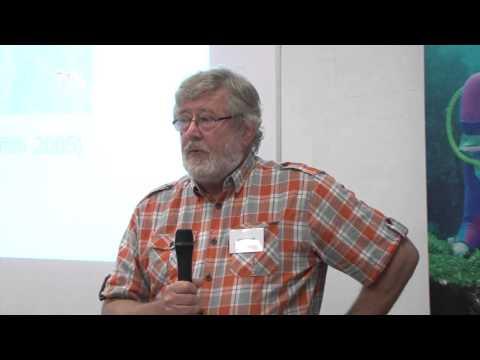 Conservation speaker, Ashley Love. NPA Marine Conservation Forum