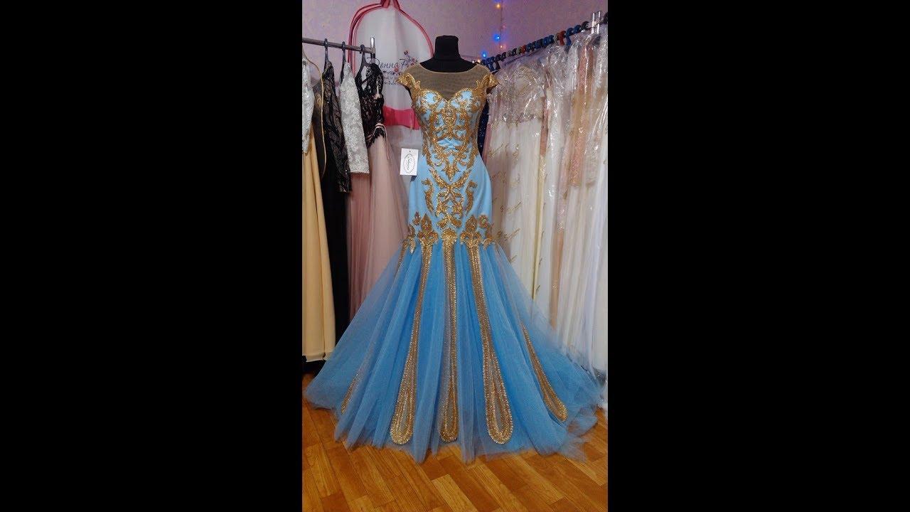 Мастер-класс: Нежное платье для куклы без шитья / Наряд Голубой .