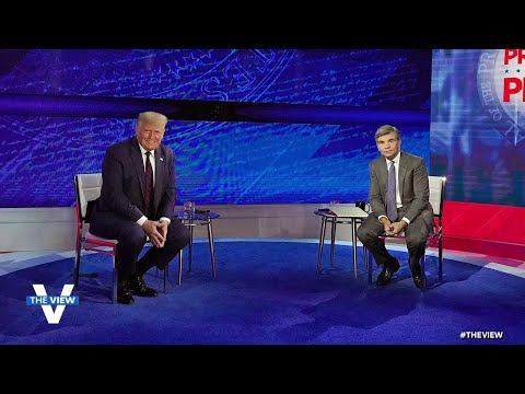 Trump Faces Uncommitted Voters | The View