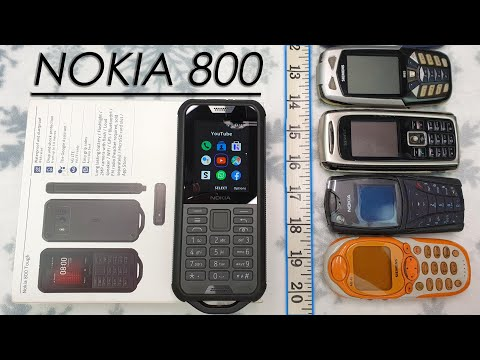 Nokia 800 Tough Unboxing vs Other Rugged Phones