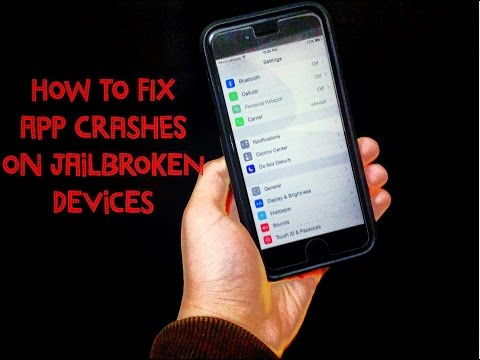 How To Fix App Crashes On Jailbroken iOS Devices (Apps Existing Out By Themselves)