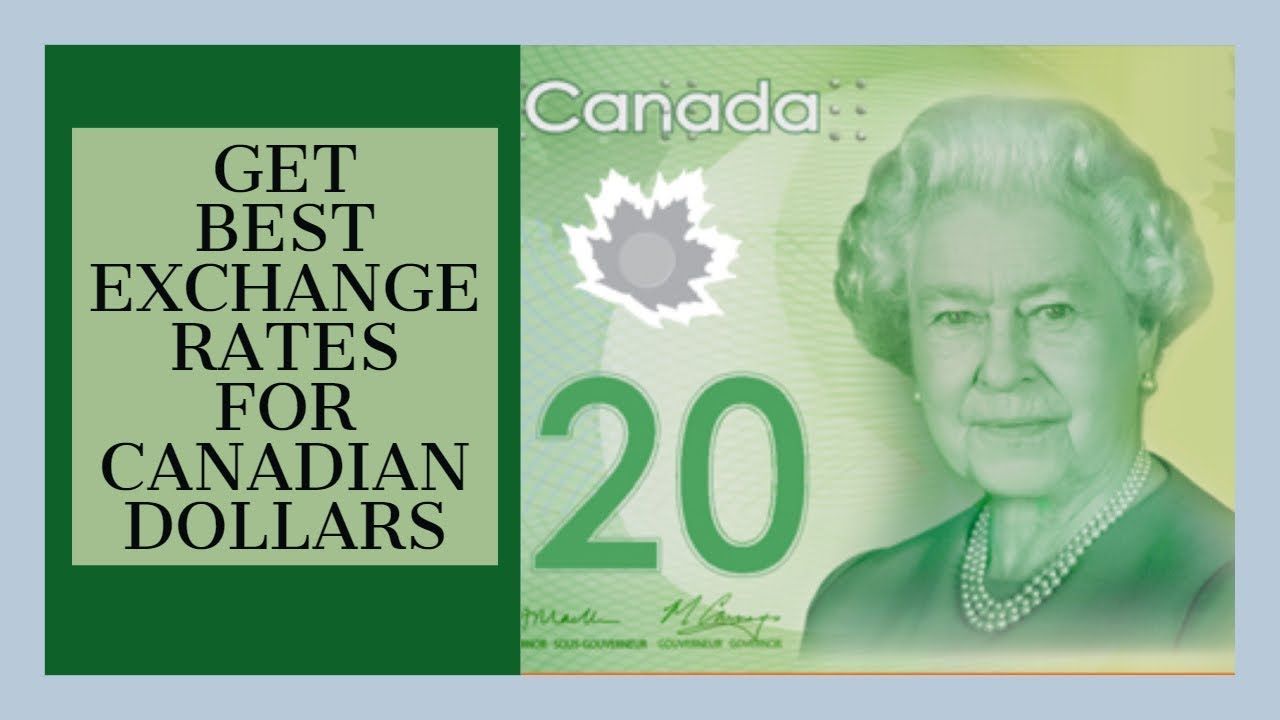 Exchange Rates For Canadian Dollars