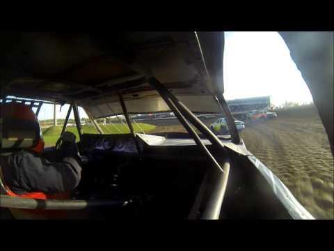 Jake Lampert's USRA Iron Man Stock Car Series Heat Race at Deer Creek Speedway