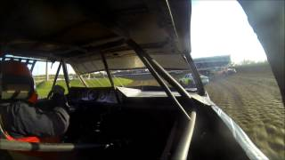 Jake Lampert USRA Stock Car Heat Race at Deer Creek Speedway