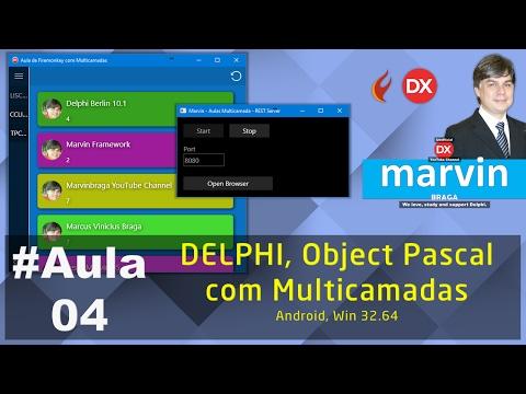 #Aula04 - Delphi - Object Pascal com Multicamadas
