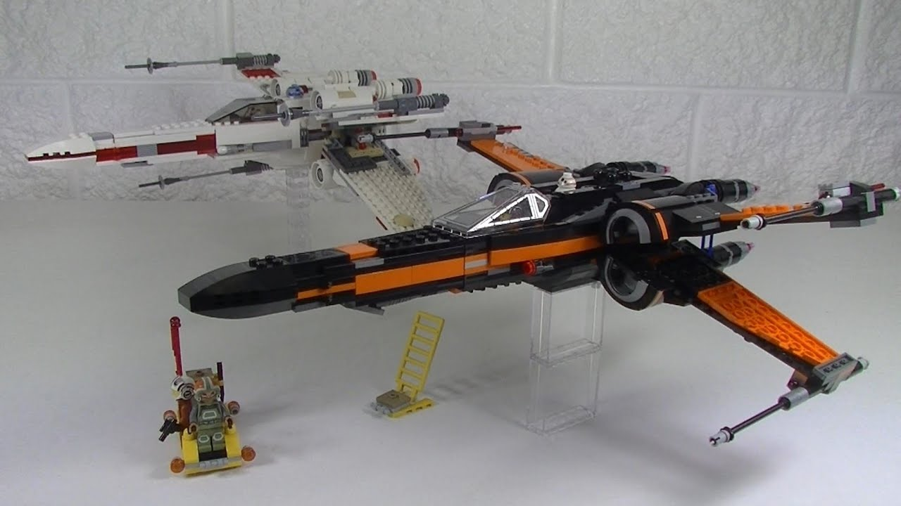 Lego star wars poe s x wing fighter review 75102 youtube - Lego Star Wars Poe S X Wing Fighter Review 75102 Youtube 12
