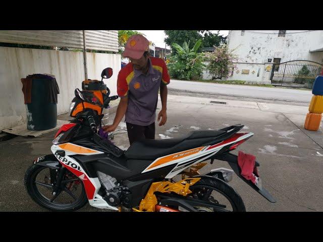 3 BULAN X BAWAK RS150R DAINESE SALE KAW KAW