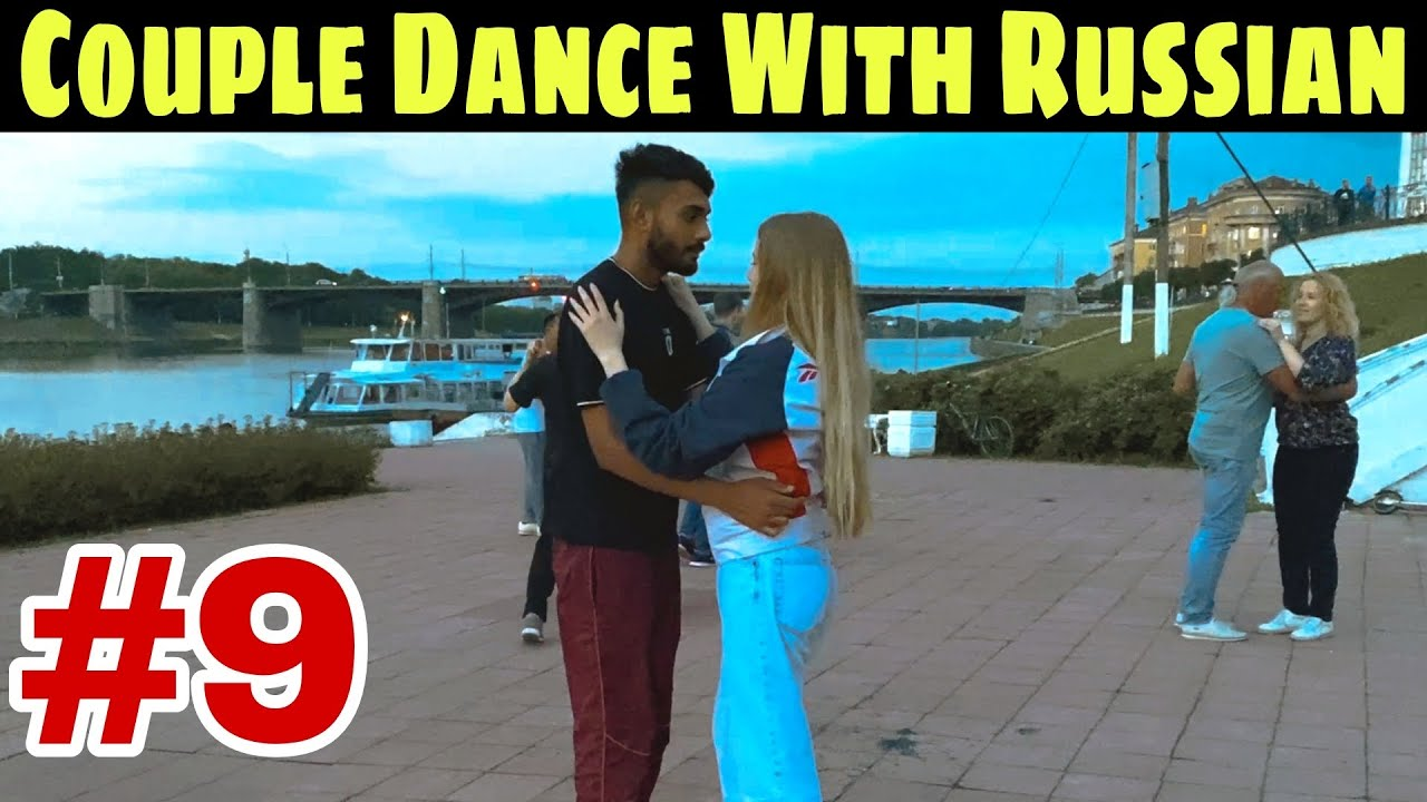 Couple Dance With Russian Girls| Explore world