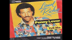 Lionel Richie - Penny Lover (1984 Single Version) HQ
