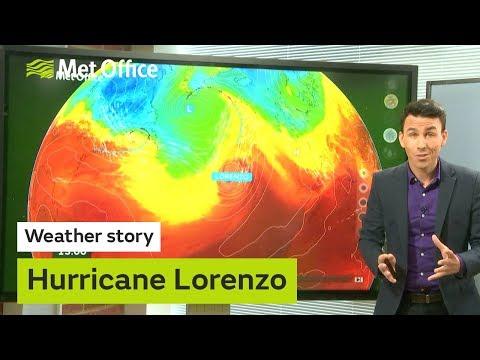 Hurricane Lorenzo - where next? 30/09/19