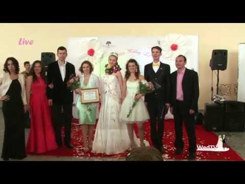 Показ весільних суконь та незвичайна весільна сукня (рекорд України) від весільного салону ALTA Moda