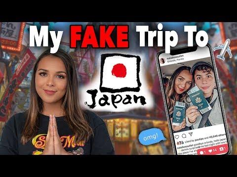 48 HOURS LYING CHALLENGE- MY FAKE TRIP TO JAPAN! ✈️