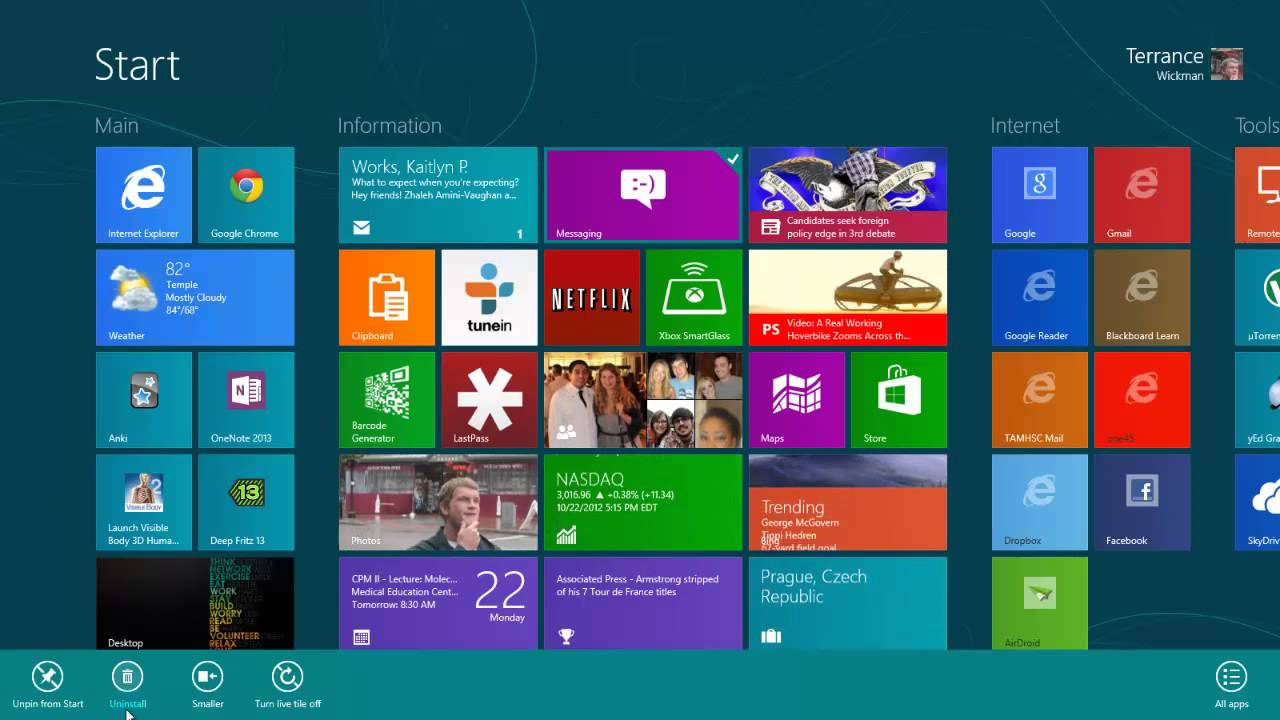 Windows 8 Quick Start Guide - YouTube