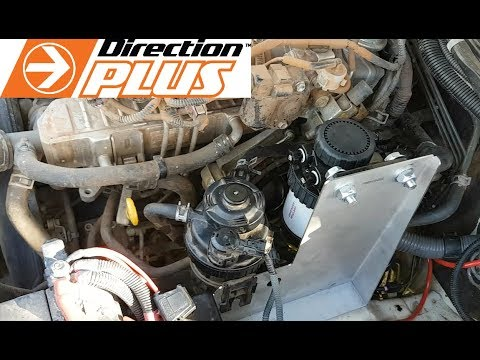 How to install a diesel pre-filter Toyota Hilux D4D