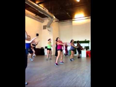 Zumba with Ruben Miami Dance Studio September 2012