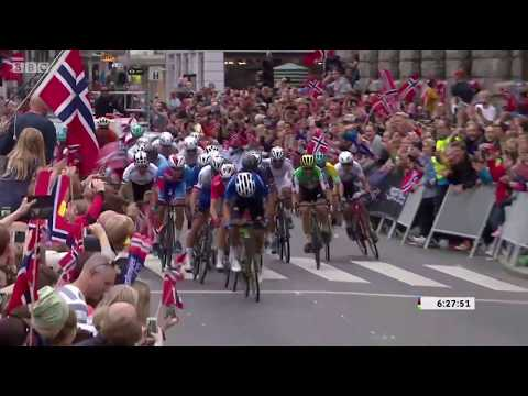 Peter Sagan World Champion 2017 BBC Commentary