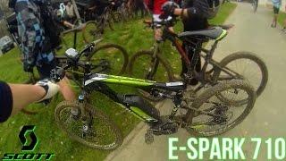 Le VTT Electrique c'est DE LA TRICHE: test Scott E-Spark 710 !