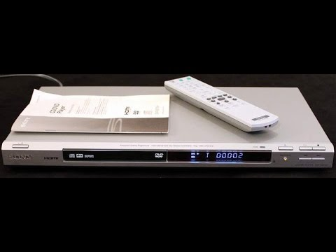 How to connect a DVD player to a tv - YouTube